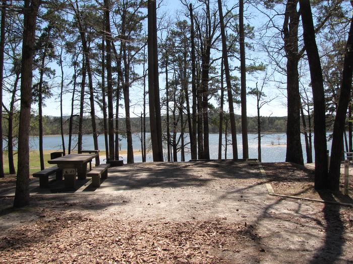 Campsite # 42Kirby Landing campsite #42