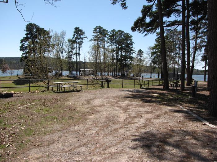 Campsite # 52Kirby Landing campsite # 52