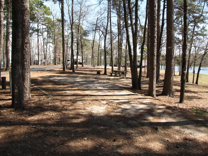 Campsite # 54Kirby Landing campsite # 54