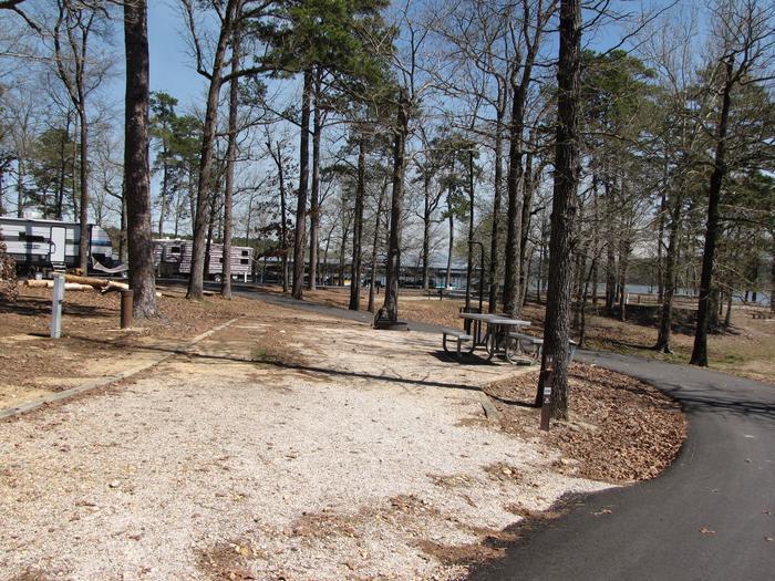 Campsite # 58Kirby Landing campsite # 58