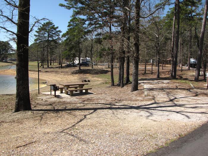 Campsite # 62Kirby Landing campsite # 62