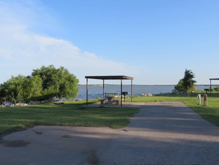View of Campsite 13Campsite 13