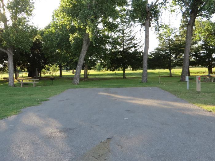 View of Campsite 14Campsite 14