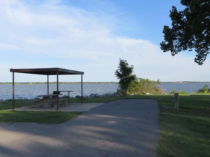 View of Campsite 15Campsite 15