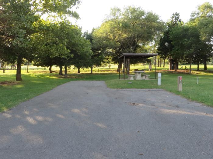 View of Campsite 16Campsite 16
