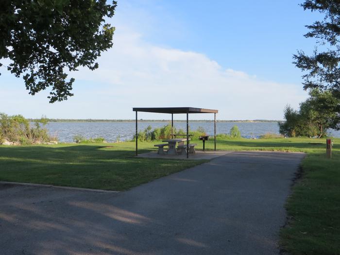 View of Campsite 17Campsite 17
