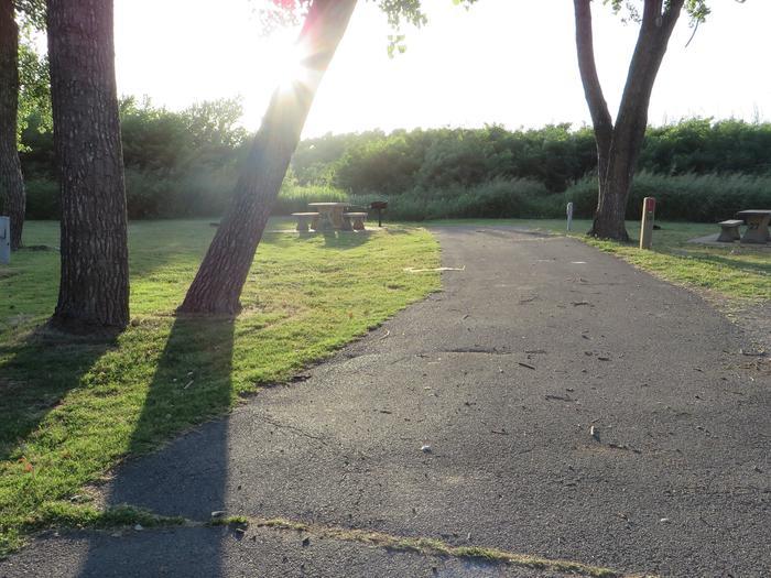 View of Campsite 28Campsite 28
