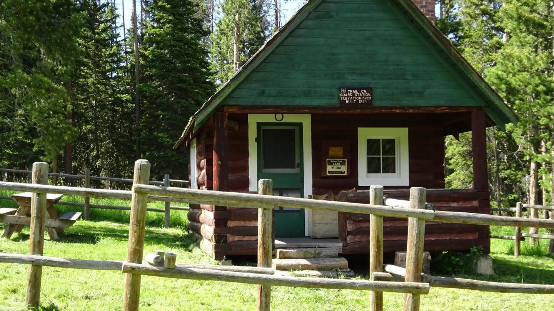 Trail Creek Cabin in summerTrail Creek Cabin in full summer