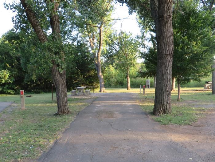 View of Campsite 32Campsite 32