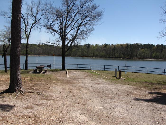 Campsite # 64Kirby Landing campsite # 64