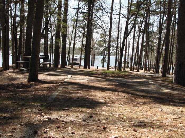 Campsite # 74Kirby Landing campsite # 74