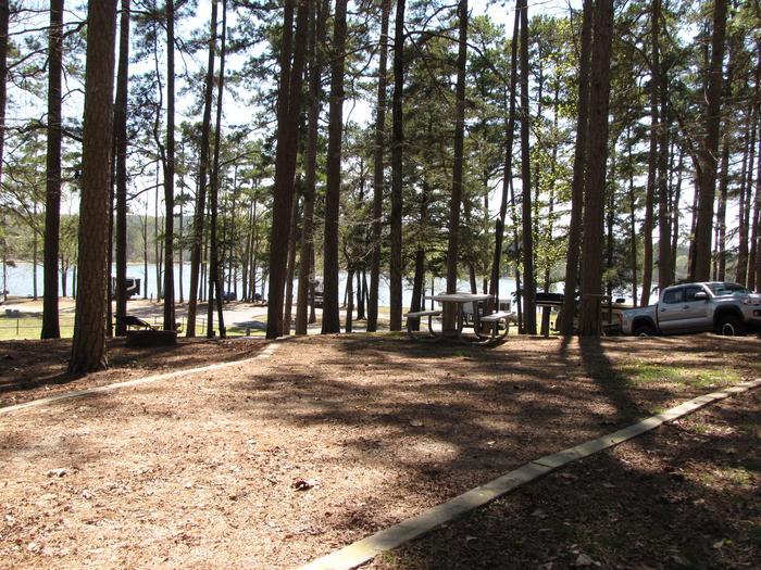 Campsite # 76Kirby Landing campsite # 76