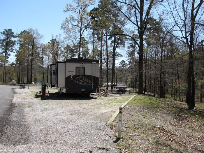 Campsite # 80Kirby Landing campsite # 80