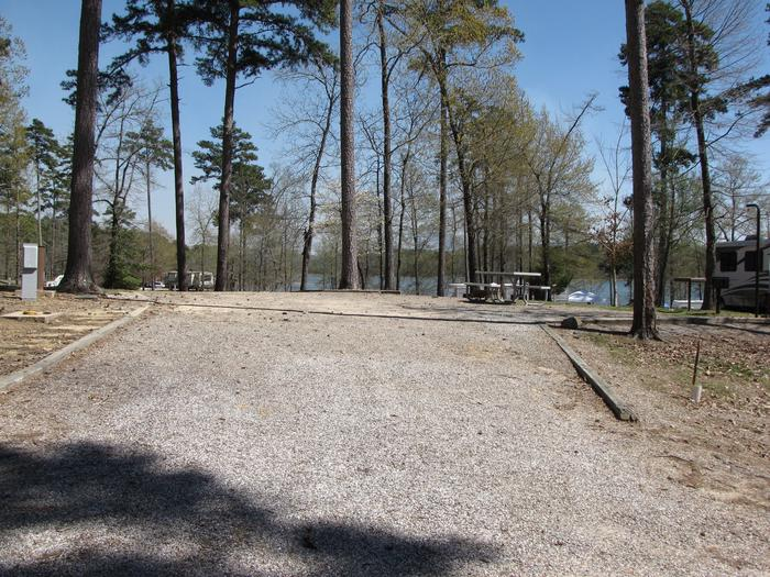 Campsite # 86Kirby Landing campsite # 86