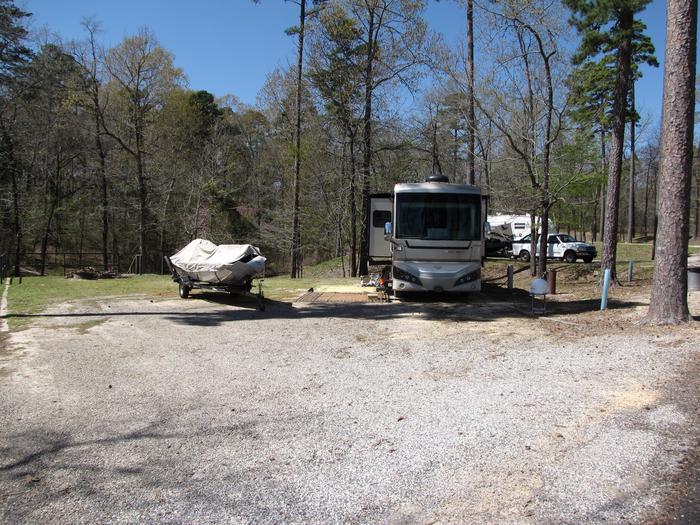 Campsite # 87Kirby Landing campsite # 87