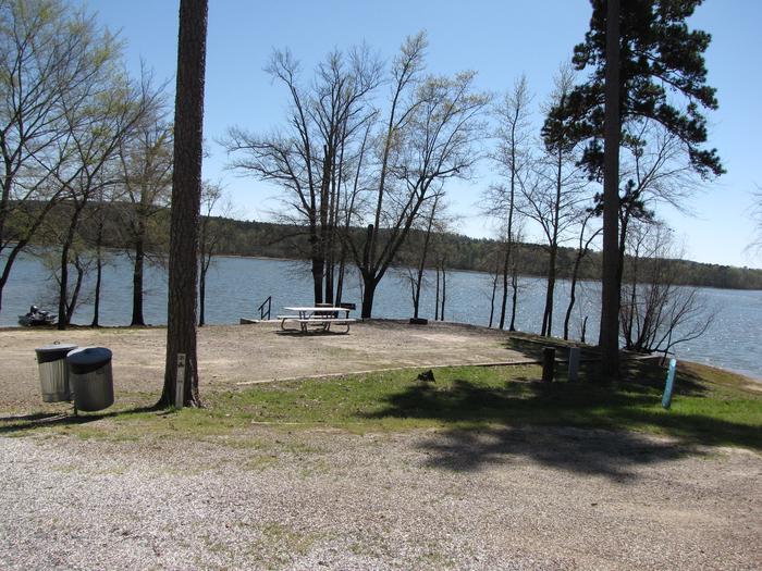 Campsite # 92Kirby Landing campsite # 92
