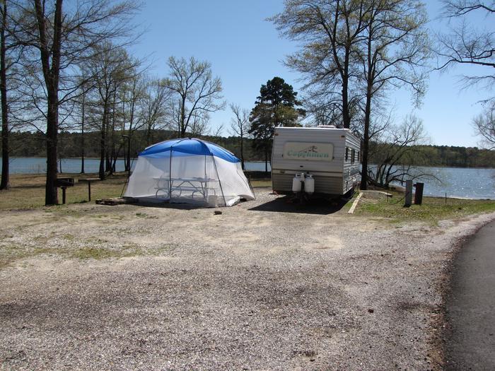 Campsite # 93Kirby Landing campsite # 93