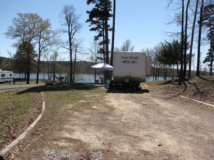 Campsite # 95Kirby Landing campsite # 95