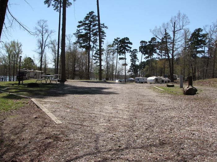 Double Site # 98Kirby Landing Double campsite # 98
