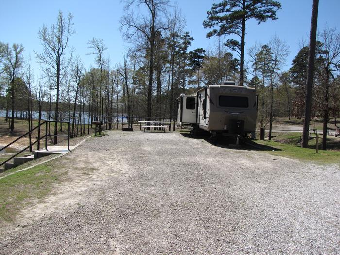 Campsite # 99Kirby Landing campsite # 99