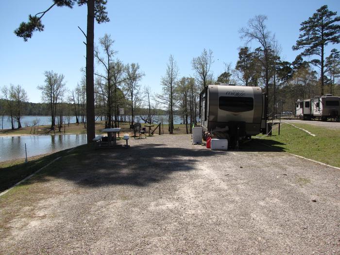 Campsite # 100Kirby Landing campsite # 100