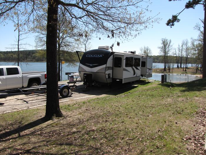 Campsite # 101Kirby Landing campsite # 101