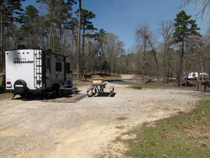 Campsite # 102Kirby Landing campsite # 102