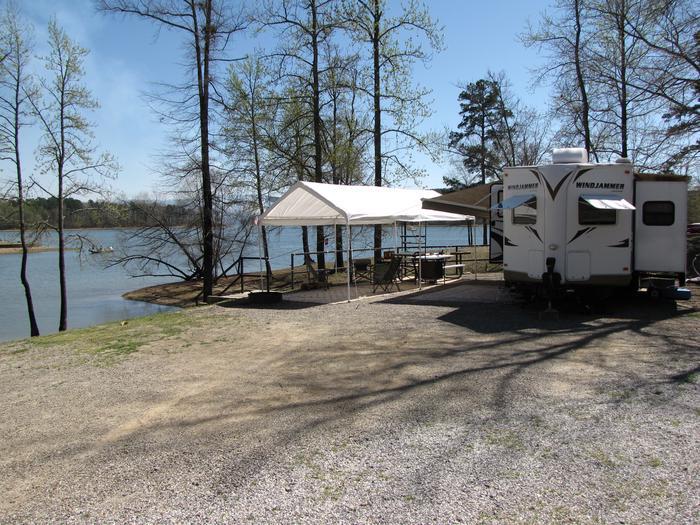 Campsite # 104Kirby Landing campsite # 104