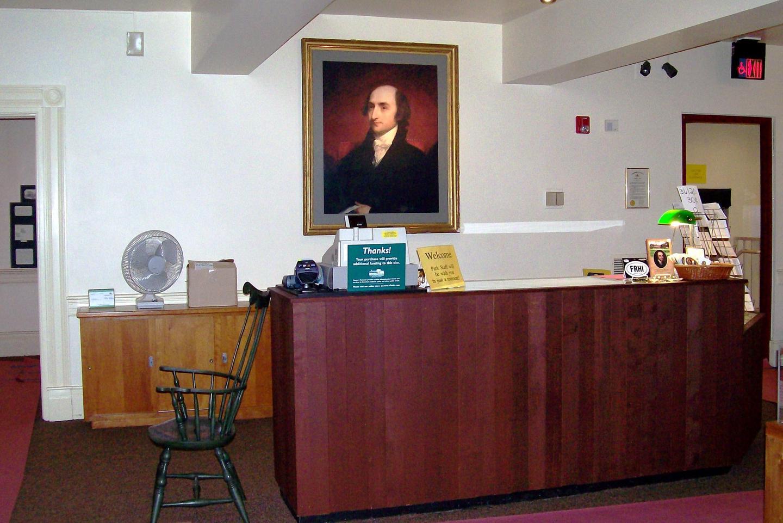 Gallatin House Visitor Center InteriorGet introduced to Albert Gallatin at the Visitor Center desk