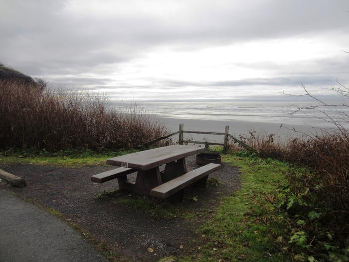 D031View of picnic table