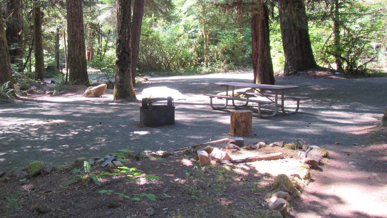 Typical Campsite at ScaredmanSite 10