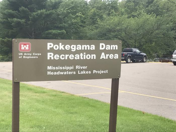 Pokegama SignPokegama Dam, Northern Headwaters