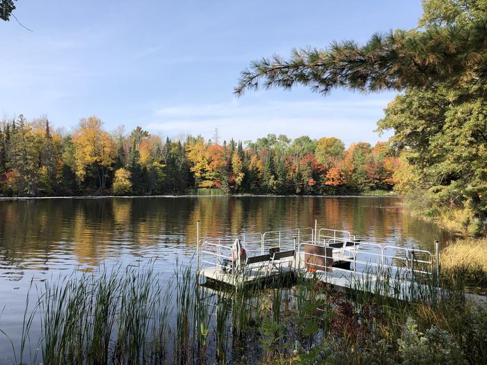 Fall Campground DockFall Campground Dock - Pokegama