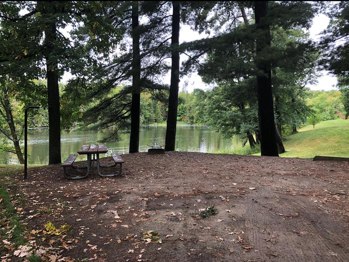 Campground Mississippi River ViewPokegama Dam Campground