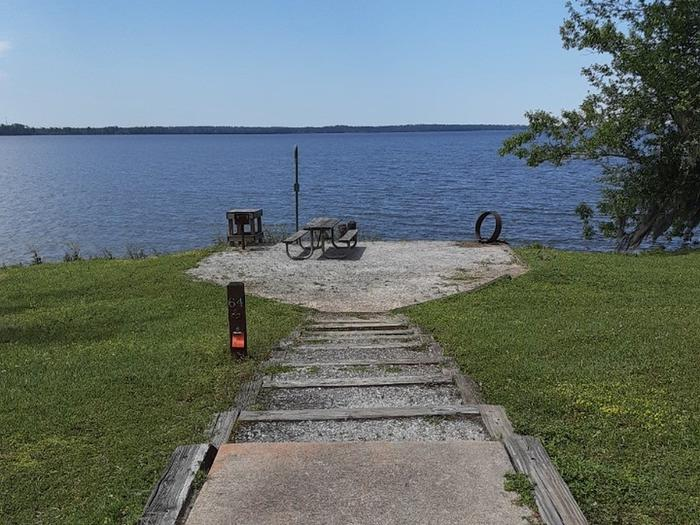 B64B64 Located by boat ramp parking area