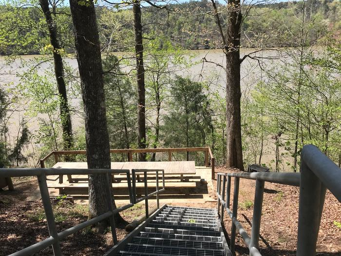 Rocky Branch Picnic Area Water View