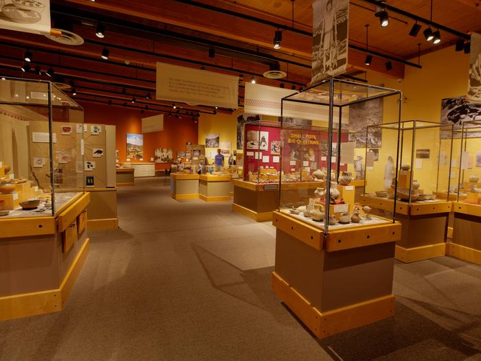 Exhibit HallThe primary exhibit room of the museum.