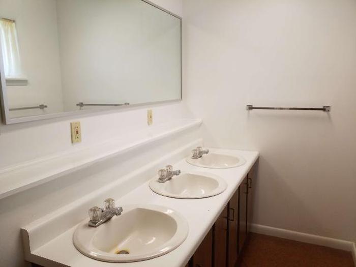 Bow River Ranger Station Bathroom SinkBow River Ranger Station