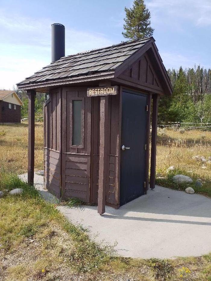Bow River Ranger Station Bathroom 5Bow River Ranger Station