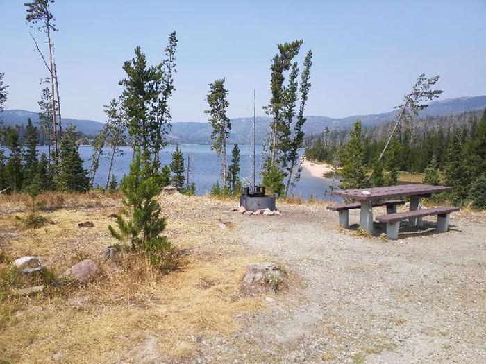 Hog Park Campsite Overlook