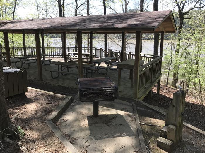 Rocky Branch Hickory Point Shelter