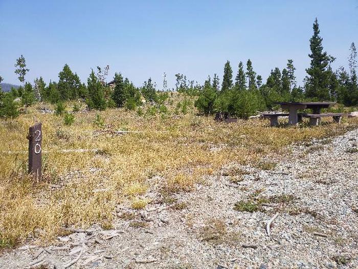 Hog Park Campground Site 20 Photo 3