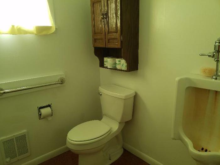 Bow River Ranger Station Bathroom