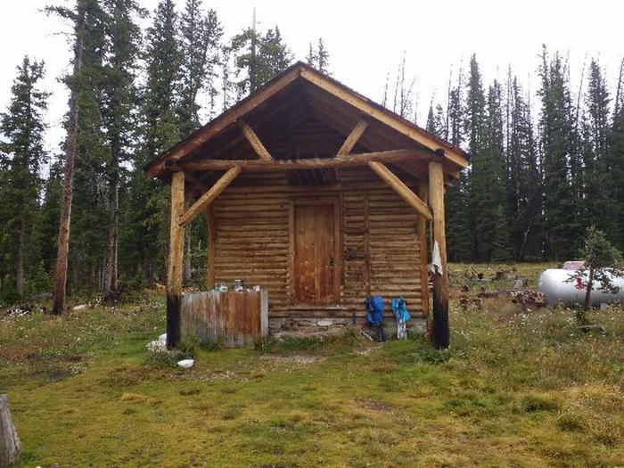 Snow survey cabin preview