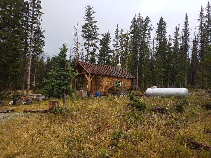 SNOW SURVEY CABIN 8