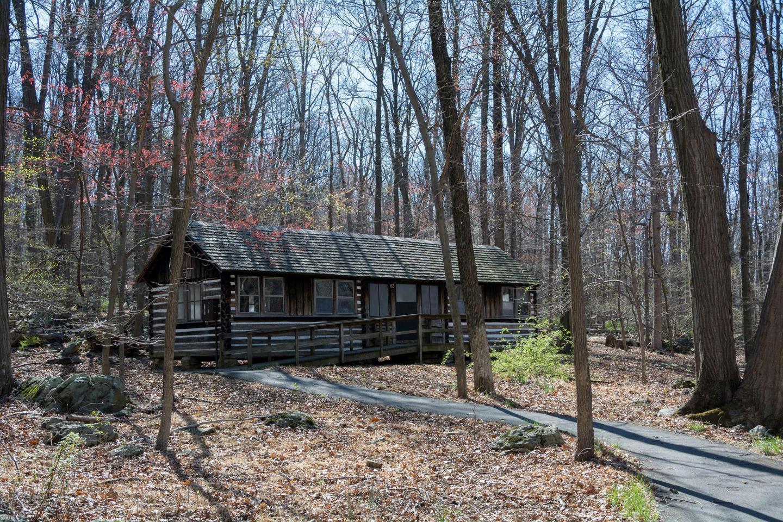 Greentop CabinOne of 16 cabins for lodging at Camp Greentop