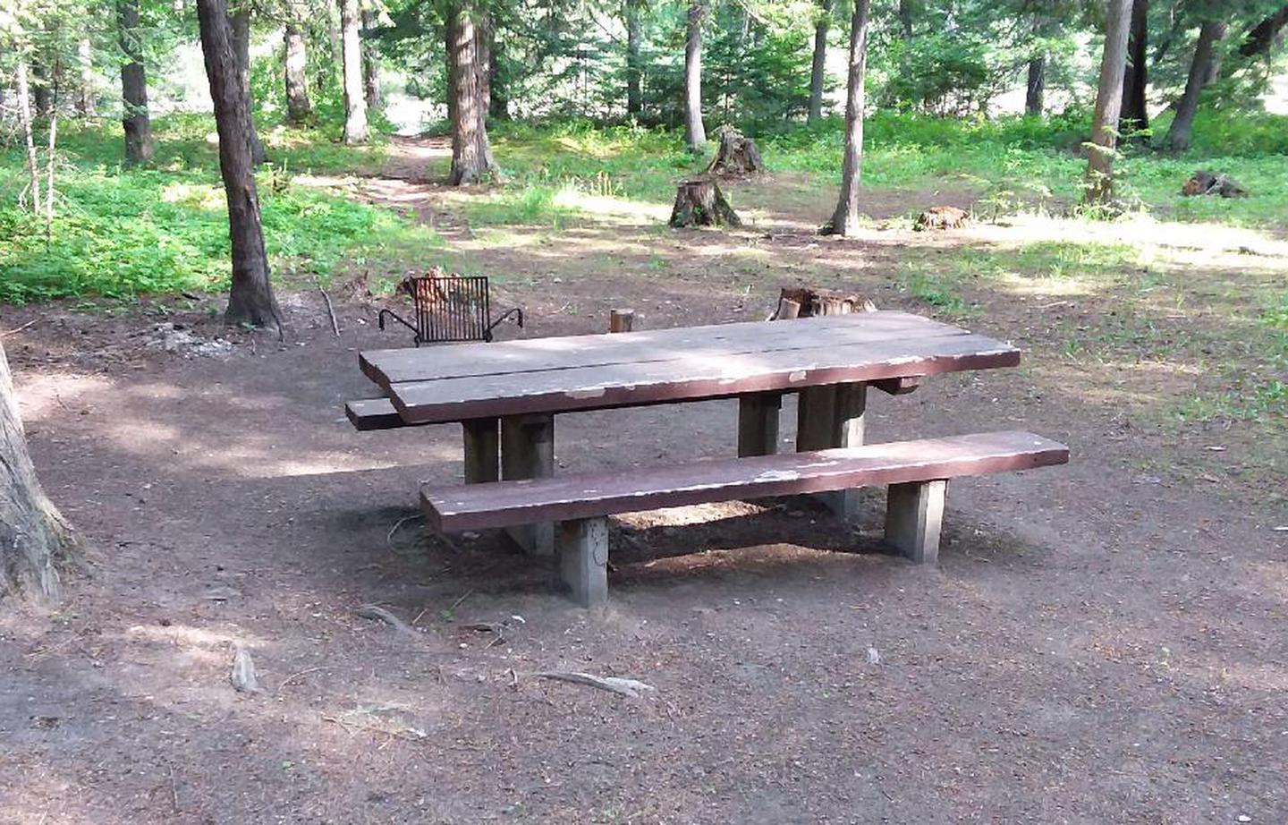 Yaak River Site 6-Table
