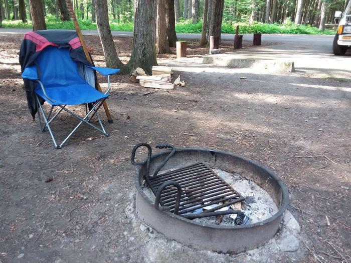 Yaak River Site 8-Fire ring
