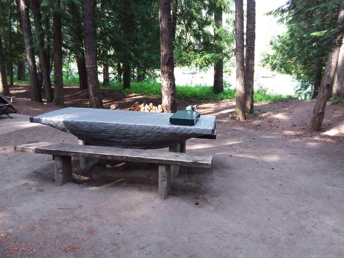 Yaak River Site 13-Table