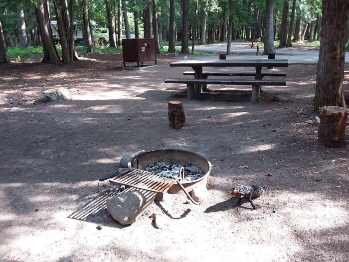 Yaak River Site 18-Fire Ring